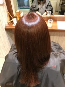 アラウンド髪質改善 画像